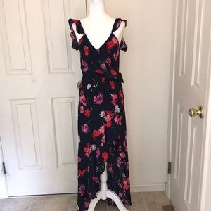 NWT Express High-Low Floral Dress - Sz Small